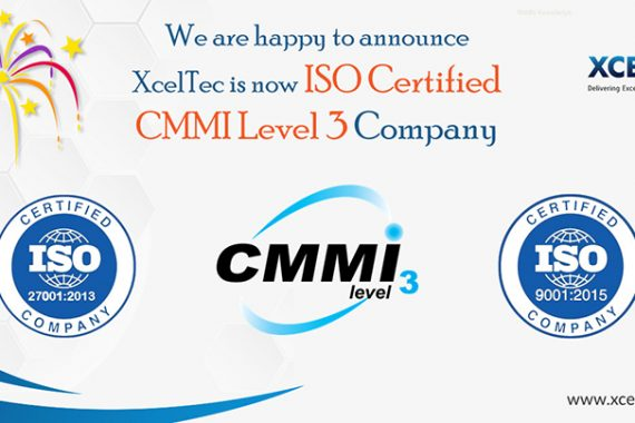 XcelTec – A CMMI Level 3 Certified Company