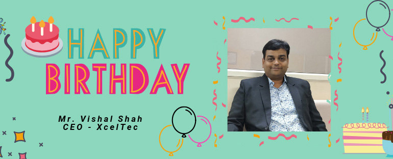 CEO-Vishal-Shah's-Birthday-Celebrated-by-XcelTec-with-Full-of-Joy