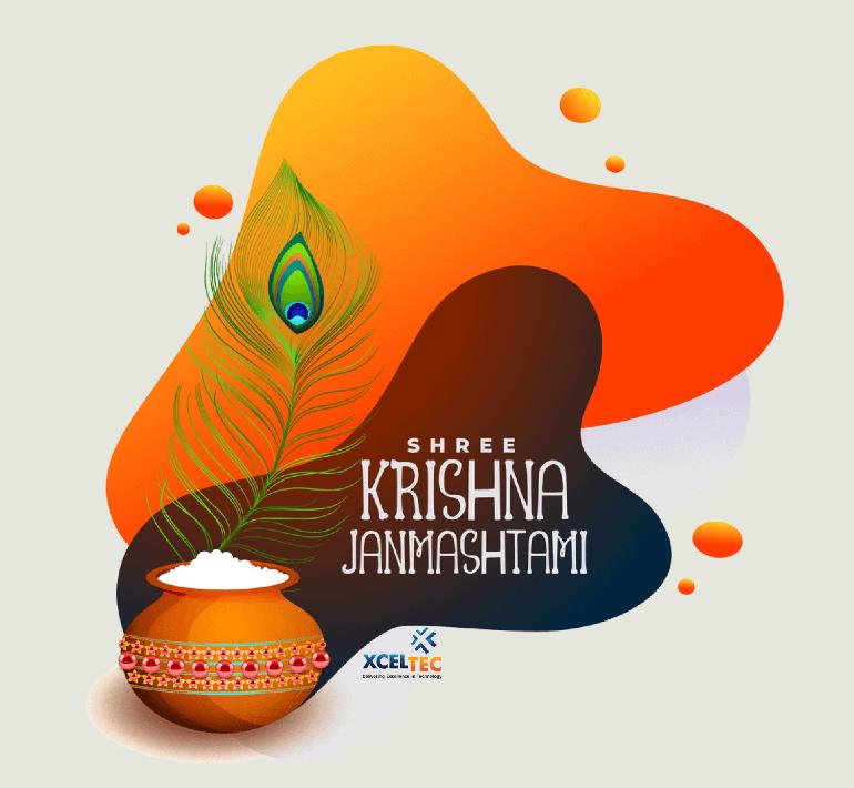 Software development Company XcelTec Celebrates Janmashtami Festival