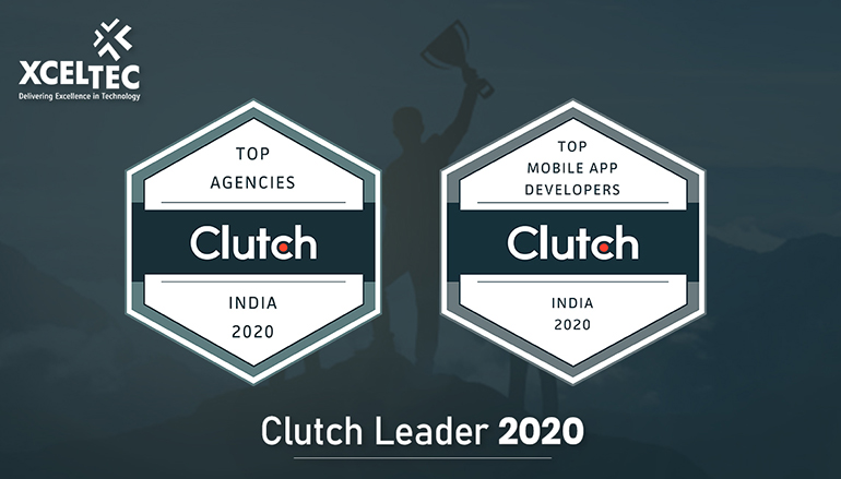 XcelTec Named Top Mobile App Development Company in India by Clutch (Industry Leader)