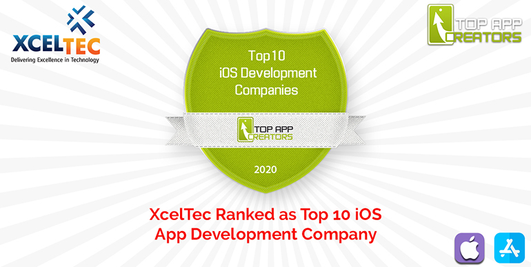 XcelTec Ranked as a Top iOS App Development Company by Top App Creators
