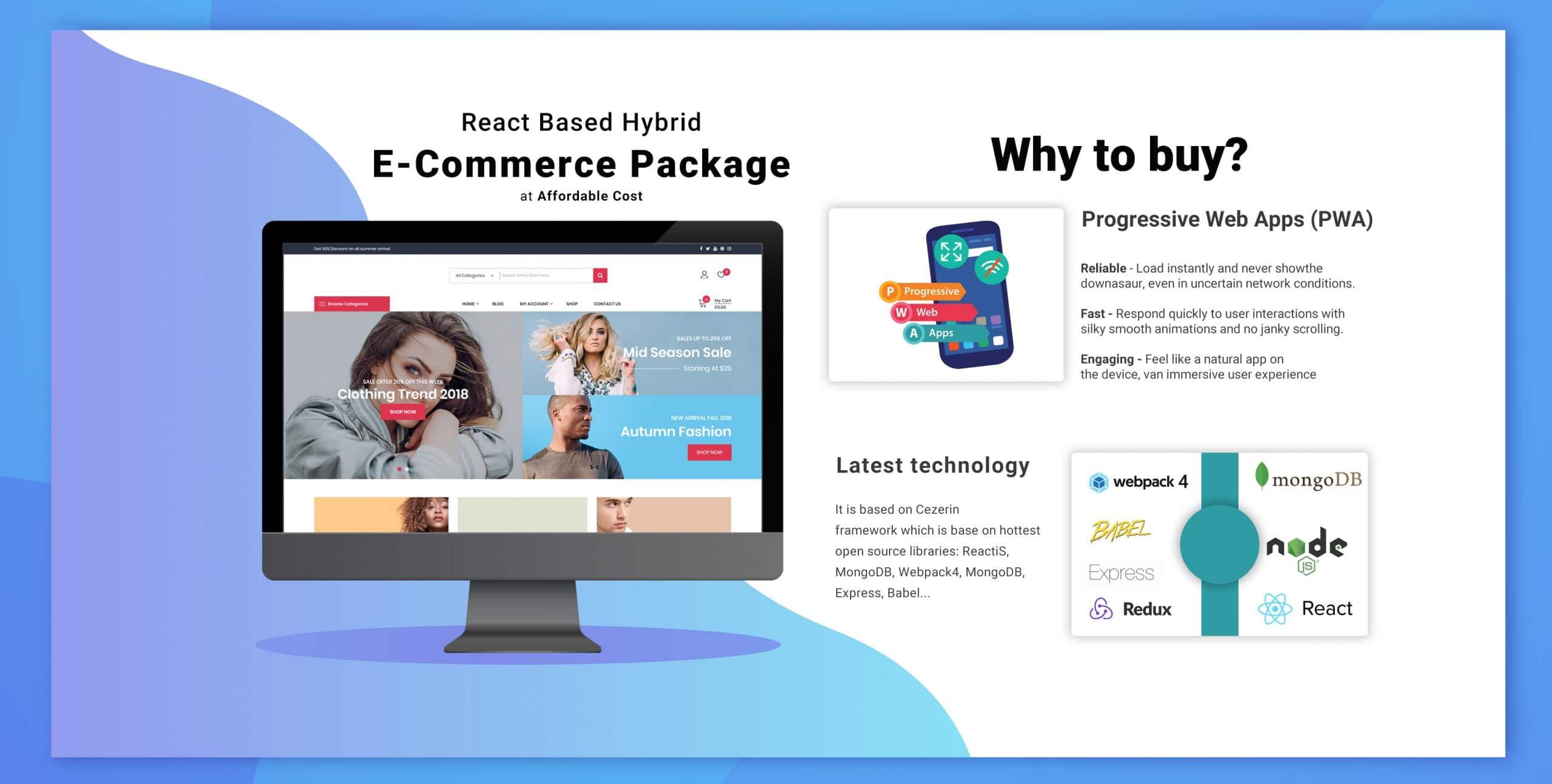 reactnative ecommerce app online